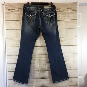 Rock Revival May Easy Boot Cut Denim Jeans 30
